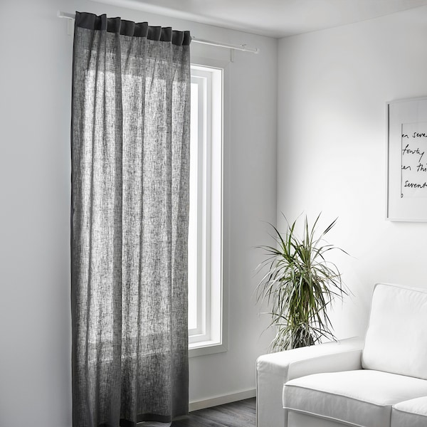 AINA Fabric, grey, 150 cm
