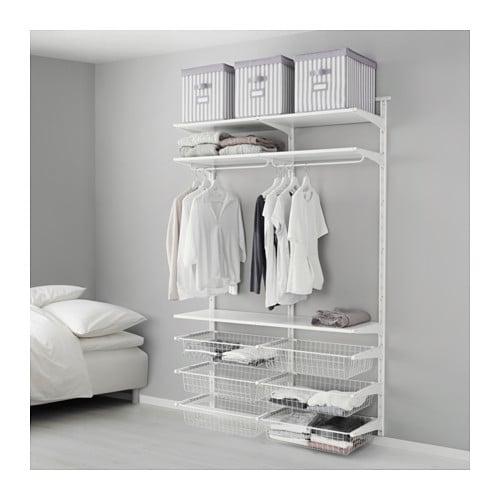 Algot Wall Upright Wire Baskets Ikea