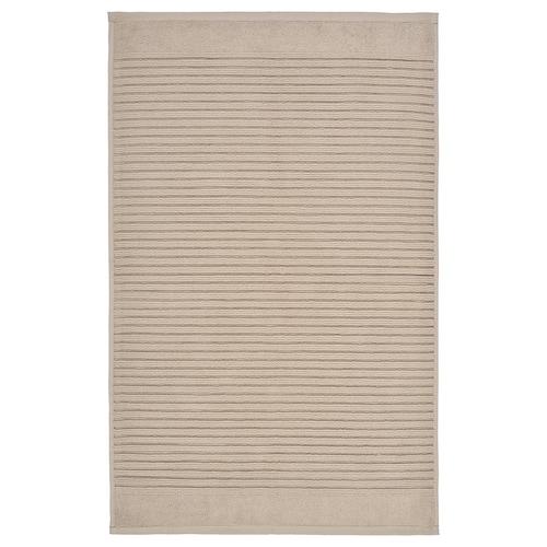 ALSTERN bath mat beige 80 cm 50 cm 0.40 m² 900 g/m²
