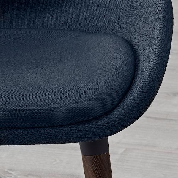 BALTSAR Chair, black-blue/brown