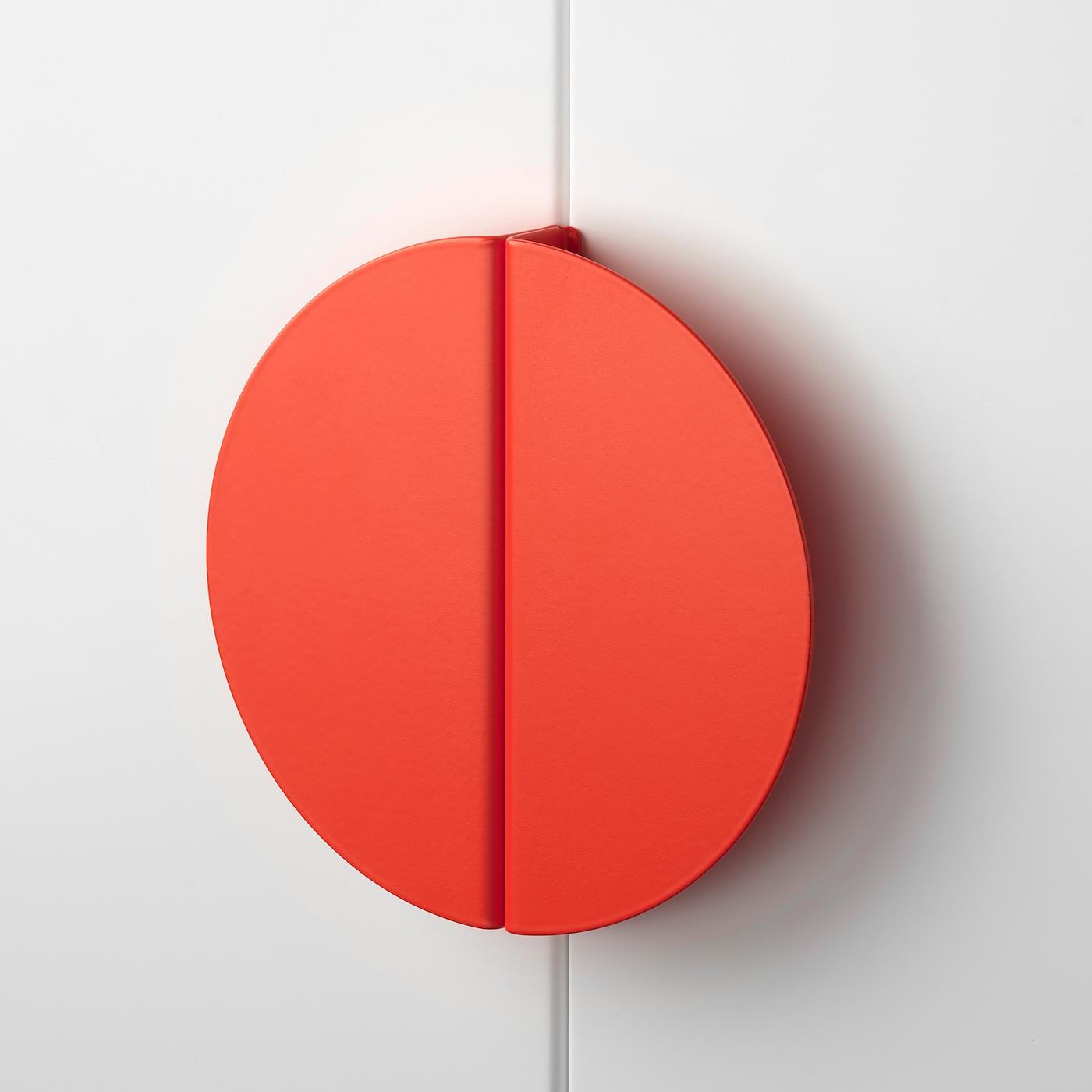 BEGRIPA Handle, orange/half-round, 130 mm