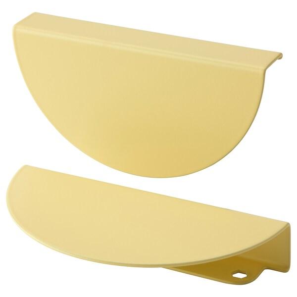 BEGRIPA Handle, yellow/half-round, 130 mm