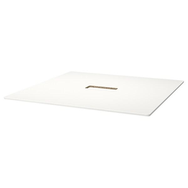 BEKANT table top white 140 cm 140 cm 1.6 cm