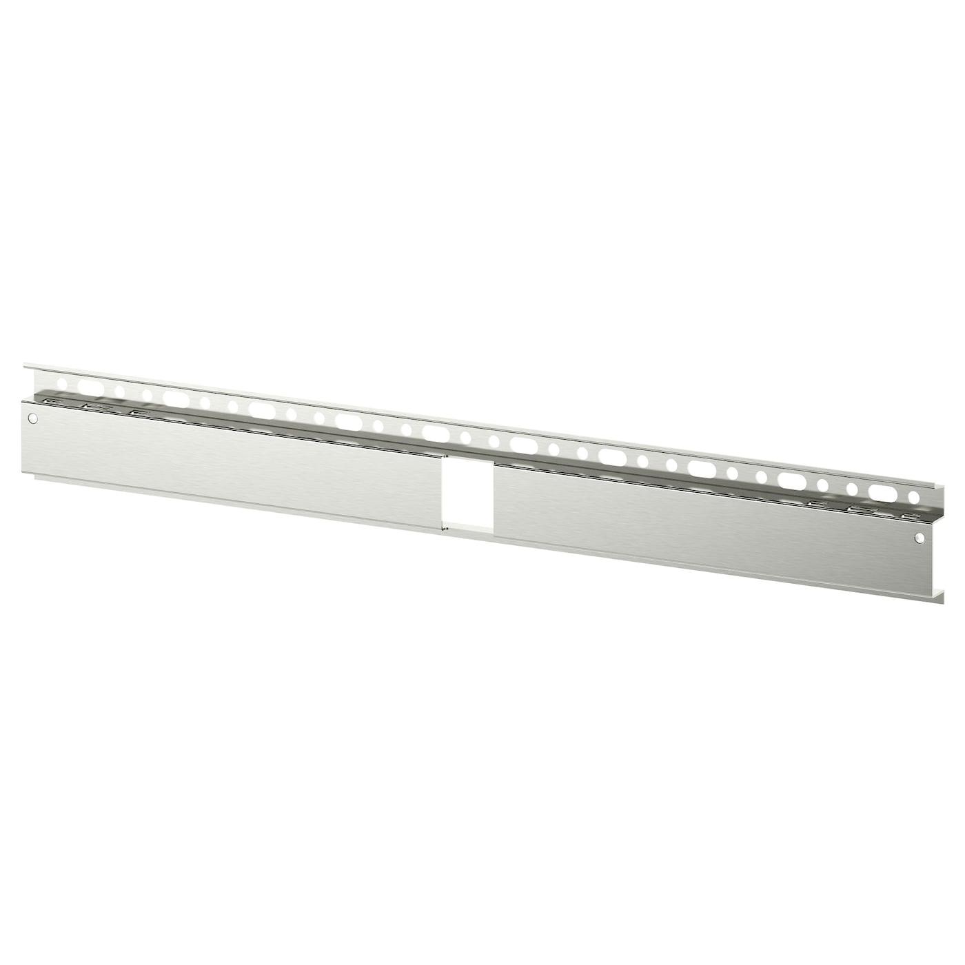 BESTÅ Suspension rail, silver-colour