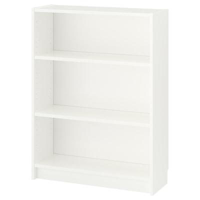 BILLY مكتبة, أبيض, 80x28x106 سم