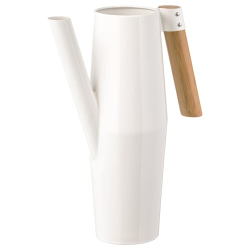 BITTERGURKA watering can white 30 cm 2 l