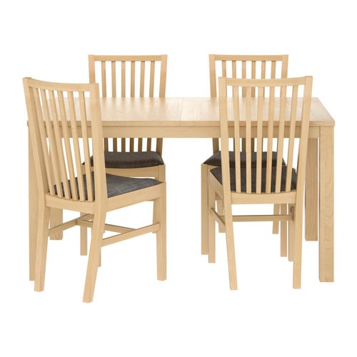 BJURSTA NORRN196S Table and 4 chairs IKEA : bjursta norrnas table and chairs grey0115318PE268563S4 from www.ikea.com size 500 x 500 jpeg 44kB