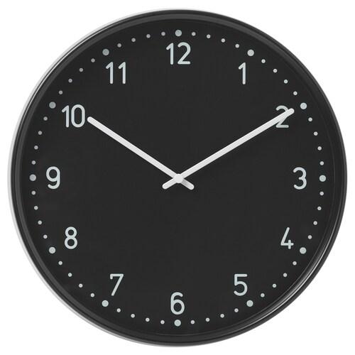 BONDIS wall clock black 6 cm 38 cm
