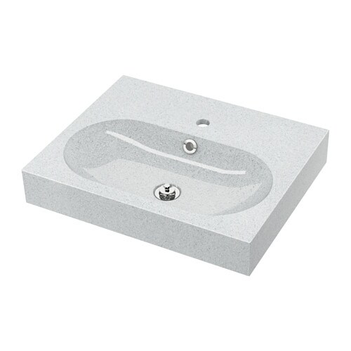 BRÅVIKEN Single wash-basin   10 year guarantee.   Read about the terms in the guarantee brochure.