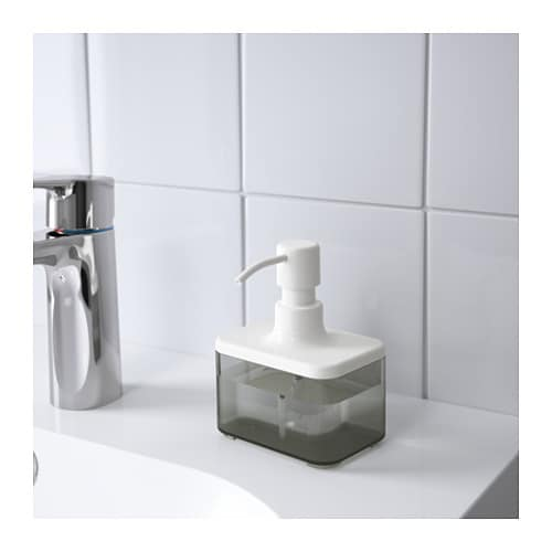 BROGRUND Soap dispenser   Easy to refill as the dispenser has a wide opening.