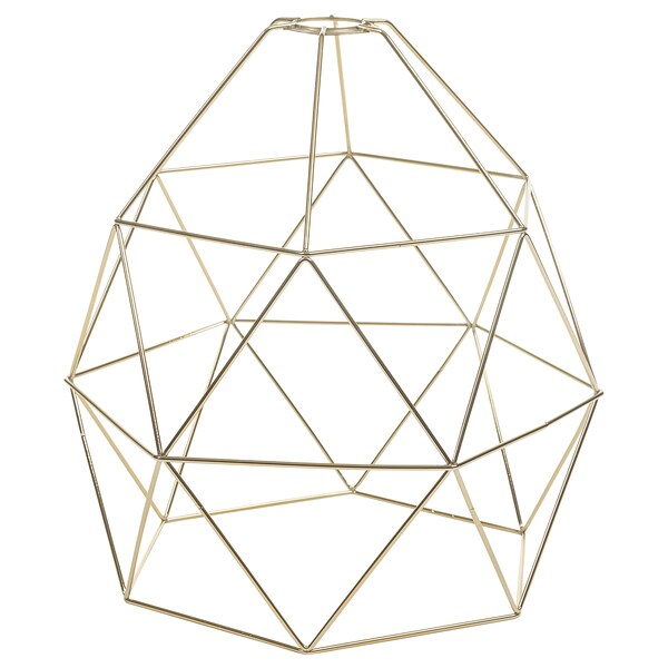 BRUNSTA Pendant lamp shade, brass-colour, 30 cm