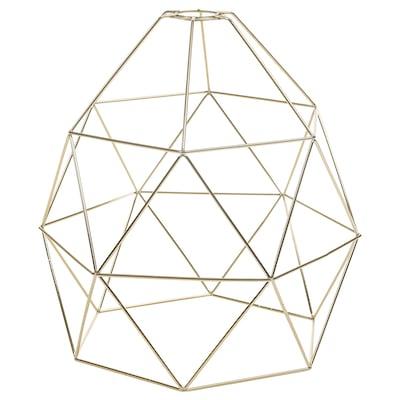 BRUNSTA Pendant lamp shade, brass-colour, 30 cm
