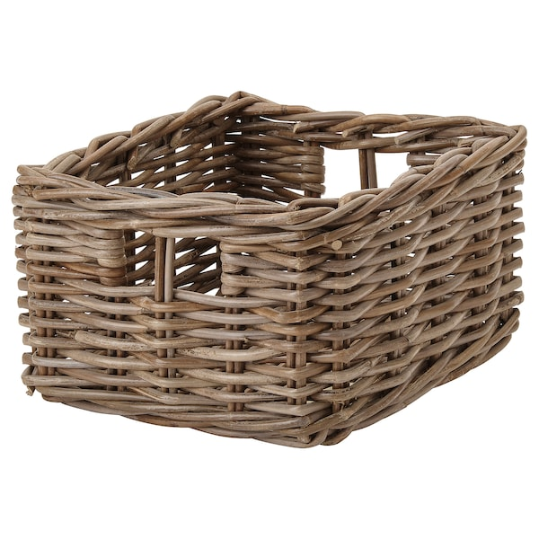 BYHOLMA basket grey 25 cm 29 cm 15 cm