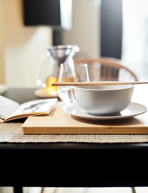 DINERA Bowl, beige, 14 cm
