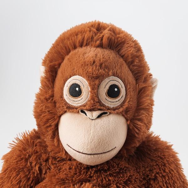 DJUNGELSKOG Soft toy, orangutan