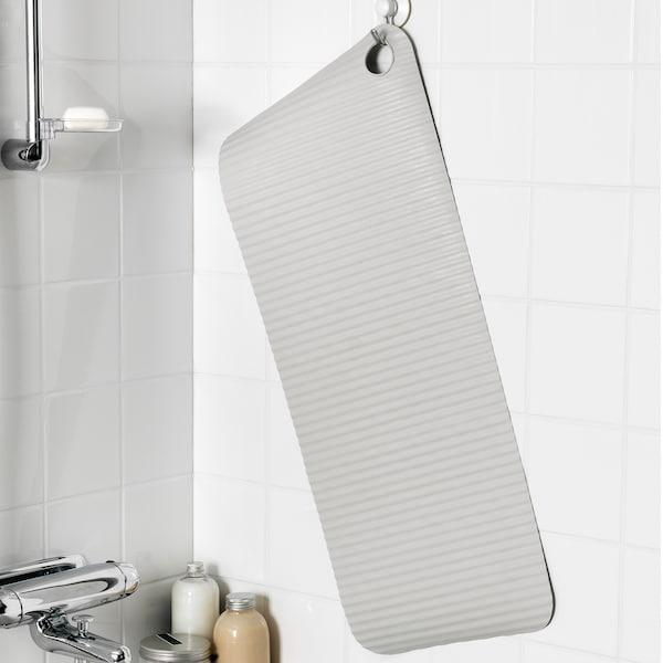 DOPPA دعّاسة حوض استحمام, رمادي فاتح, 33x84 سم