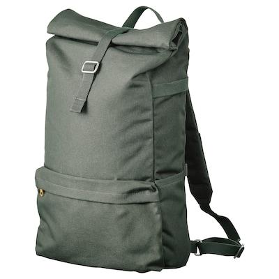 DRÖMSÄCK Backpack, olive-green, 21 l