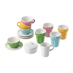DUKTIG 10-piece coffee/tea set