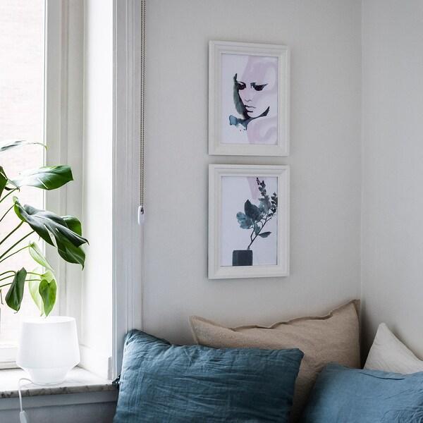 EDSBRUK Frame, white, 21x30 cm