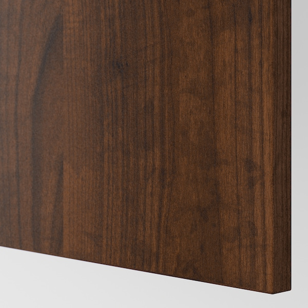 EDSERUM Cover panel, wood effect brown, 39x86 cm