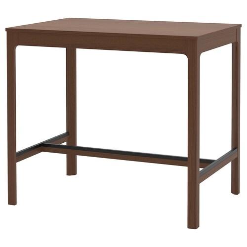 EKEDALEN bar table brown 120 cm 80 cm 105 cm