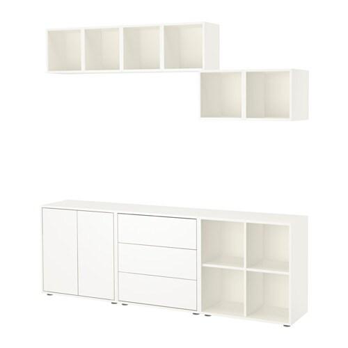 Eket Cabinet Combination With Feet Ikea