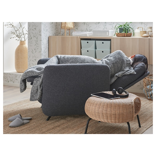 EKOLSUND Recliner, Gunnared dark grey