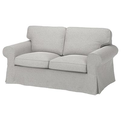 EKTORP 2-seat sofa, Tallmyra white/black