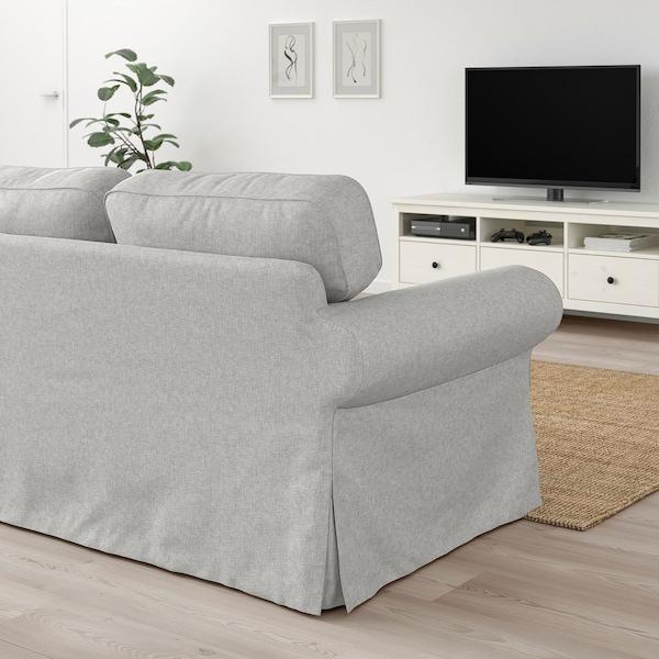 EKTORP 3-seat sofa, Tallmyra white/black