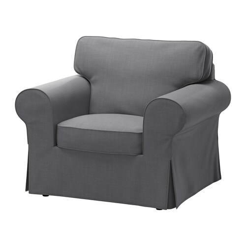 ektorp armchair nordvalla dark grey ikea. Black Bedroom Furniture Sets. Home Design Ideas