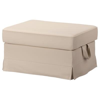 EKTORP Footstool, Hallarp beige