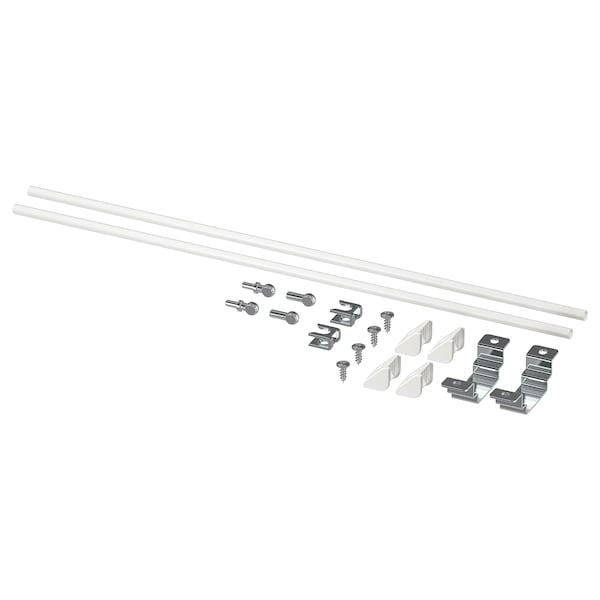 ENHET Assembly kit for kitchen island, white, 40 cm