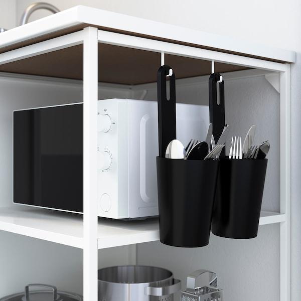 ENHET Base fr w shelves, white, 40x60x75 cm