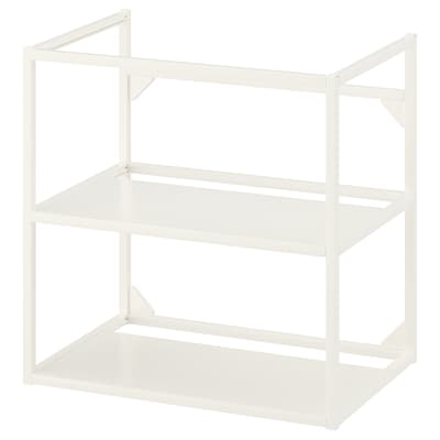 ENHET هيكل قاعدة لحوض, أبيض, 60x40x60 سم