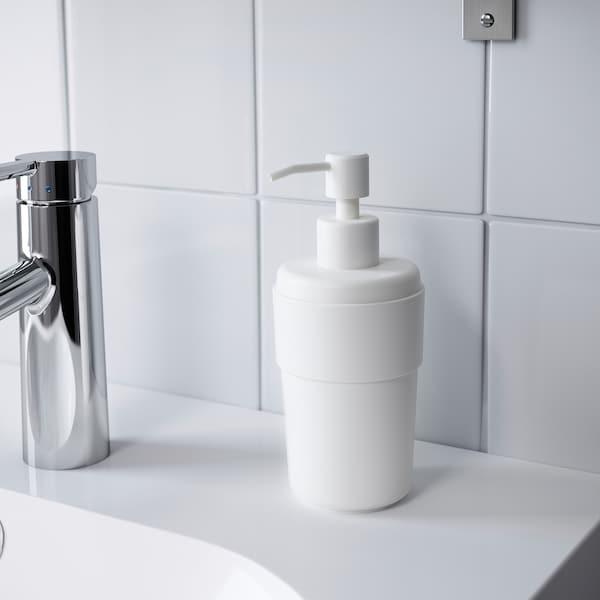 ENUDDEN soap dispenser white 18 cm 8 cm