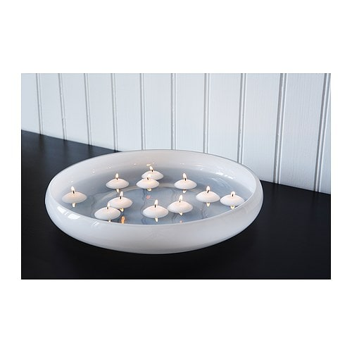 FENOMEN Unscented floating candle Float when placed in ...