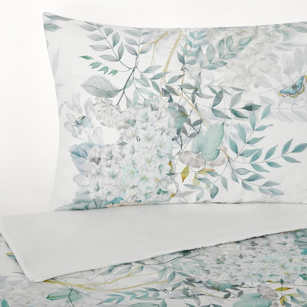 FINLOSTA غطاء لحاف و ٢ غطاء مخدة