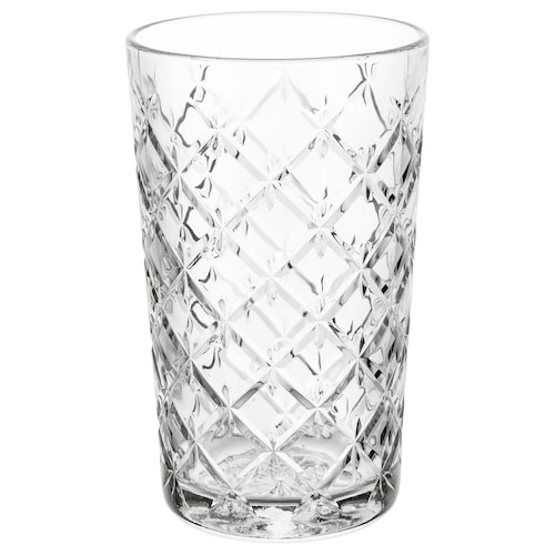 FLIMRA glass clear glass/patterned 14 cm 42 cl