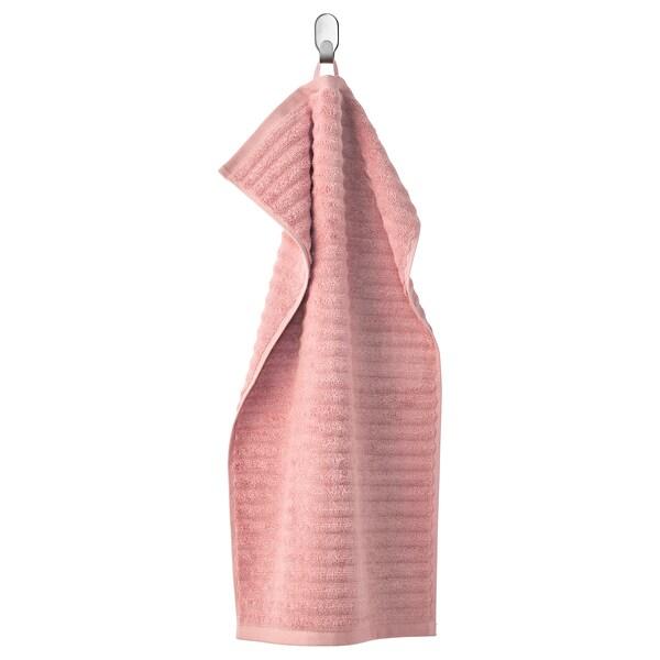 FLODALEN Hand towel, light pink, 40x70 cm