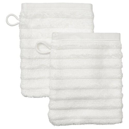 FLODALEN washing mitt white 20 cm 15 cm 0.03 m² 2 pieces