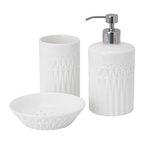 GAVIKEN 3-piece bathroom set