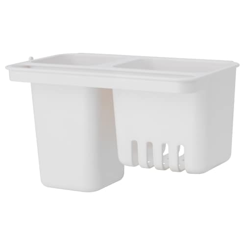 GLÖMSTA container with suction cup 19 cm 11 cm 11 cm