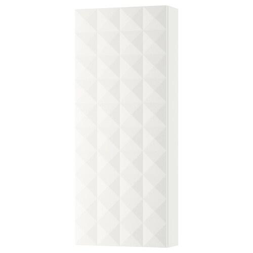 GODMORGON wall cabinet with 1 door Resjön white 40 cm 14 cm 96 cm