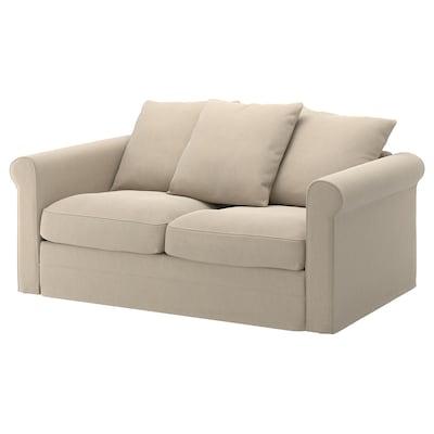 GRÖNLID 2-seat sofa, Sporda natural