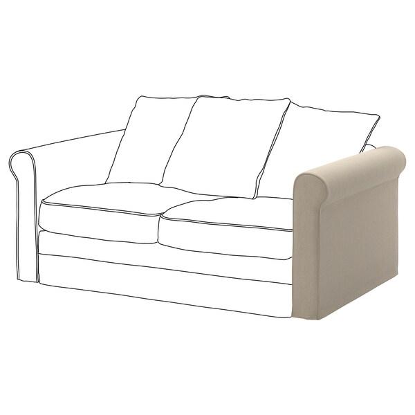 GRÖNLID Cover for armrest, Sporda natural
