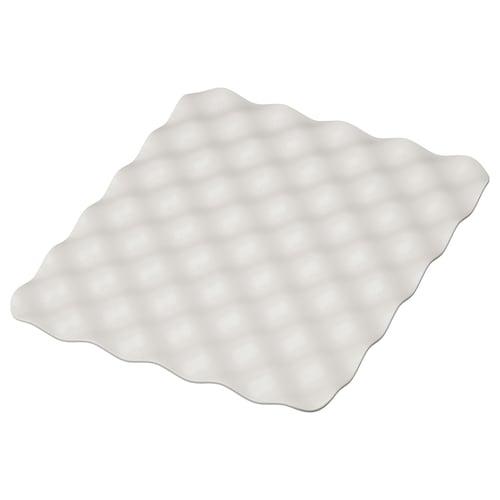 GRUNDVATTNET mat grey 32 cm 26 cm 1 cm 0.08 m²