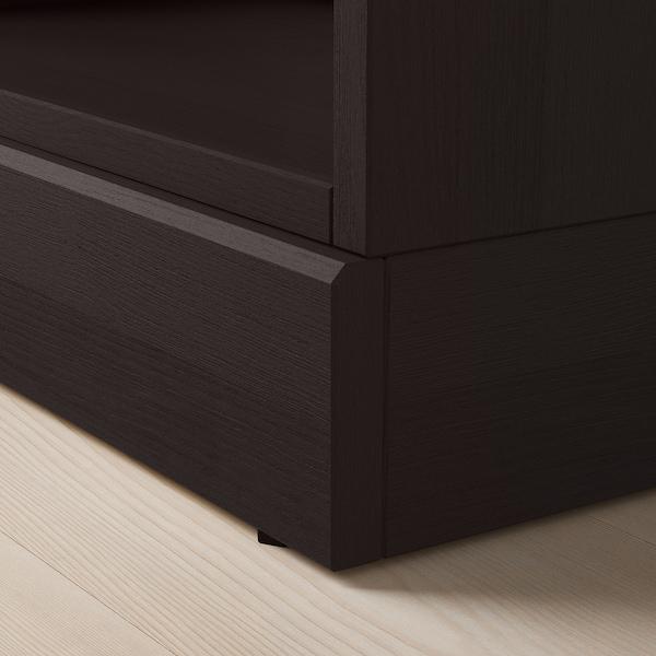 HAVSTA Storage combination, dark brown, 142x47x212 cm