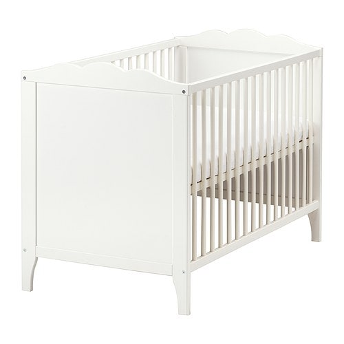 HENSVIK Cot   The cot base can be placed at two different heights.