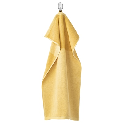 HIMLEÅN منشفة يد, أصفر/خليط, 40x70 سم