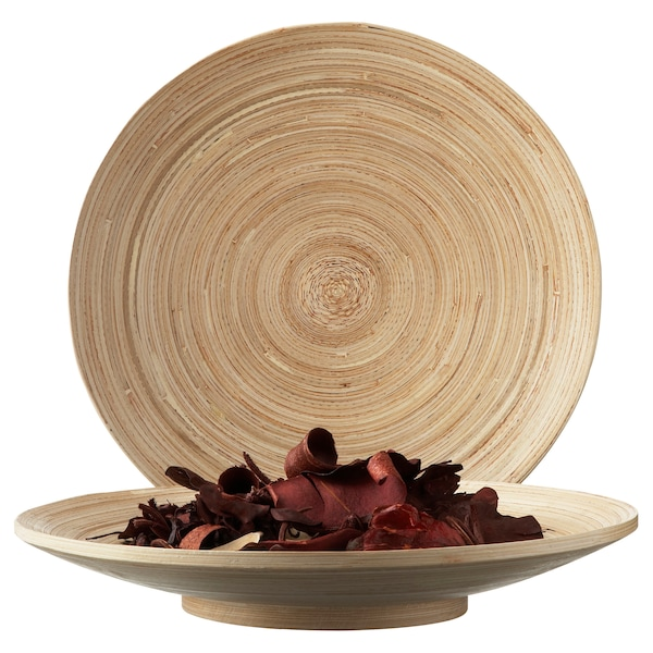 HULTET dish bamboo 5 cm 30 cm